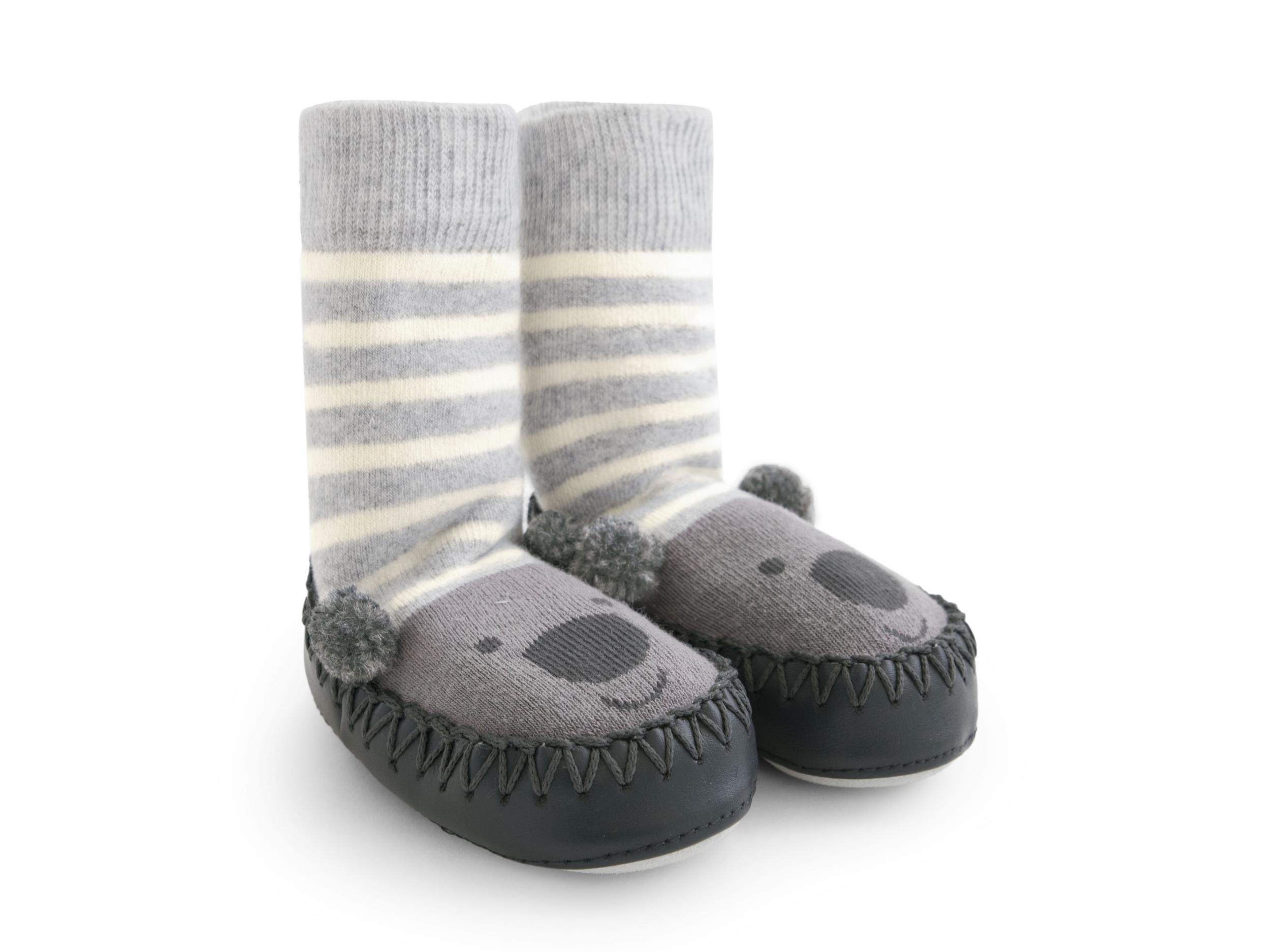 Lovely Quality 2 Different sizes Kids 2 pack Slipper socks Machine washable