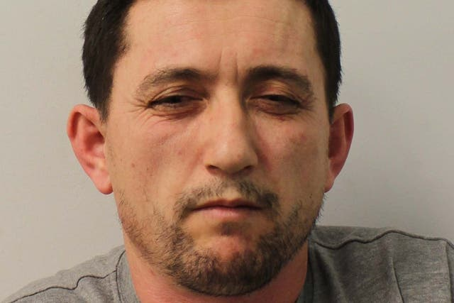 """Astrit Kapaj, dubbed the """"Wimbledon Prowler"""", who pleaded guilty to 26 offences after his crime spree was finally brought to a halt by detectives in February"""