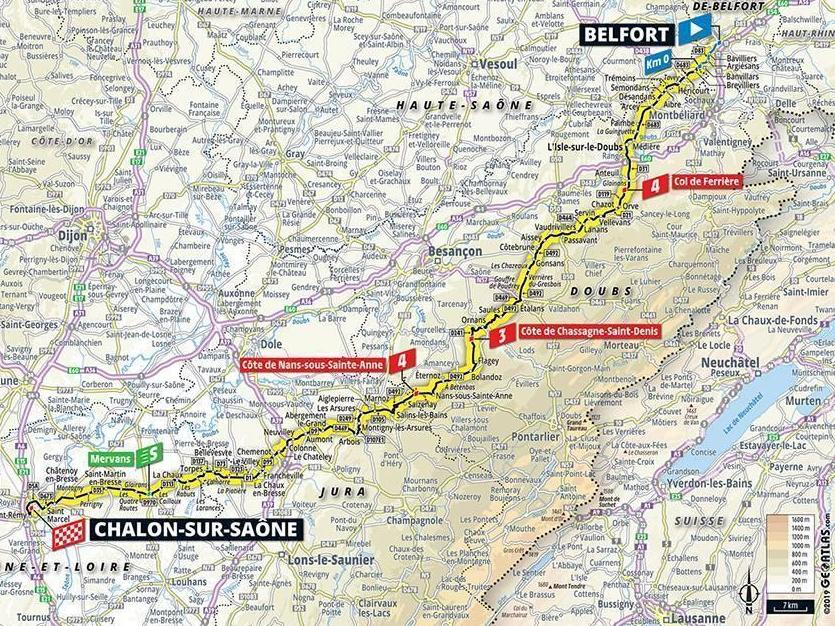 Tour de France 2019: Stage seven preview, prediction, start time and route from Belfort to Chalon-sur-Saone