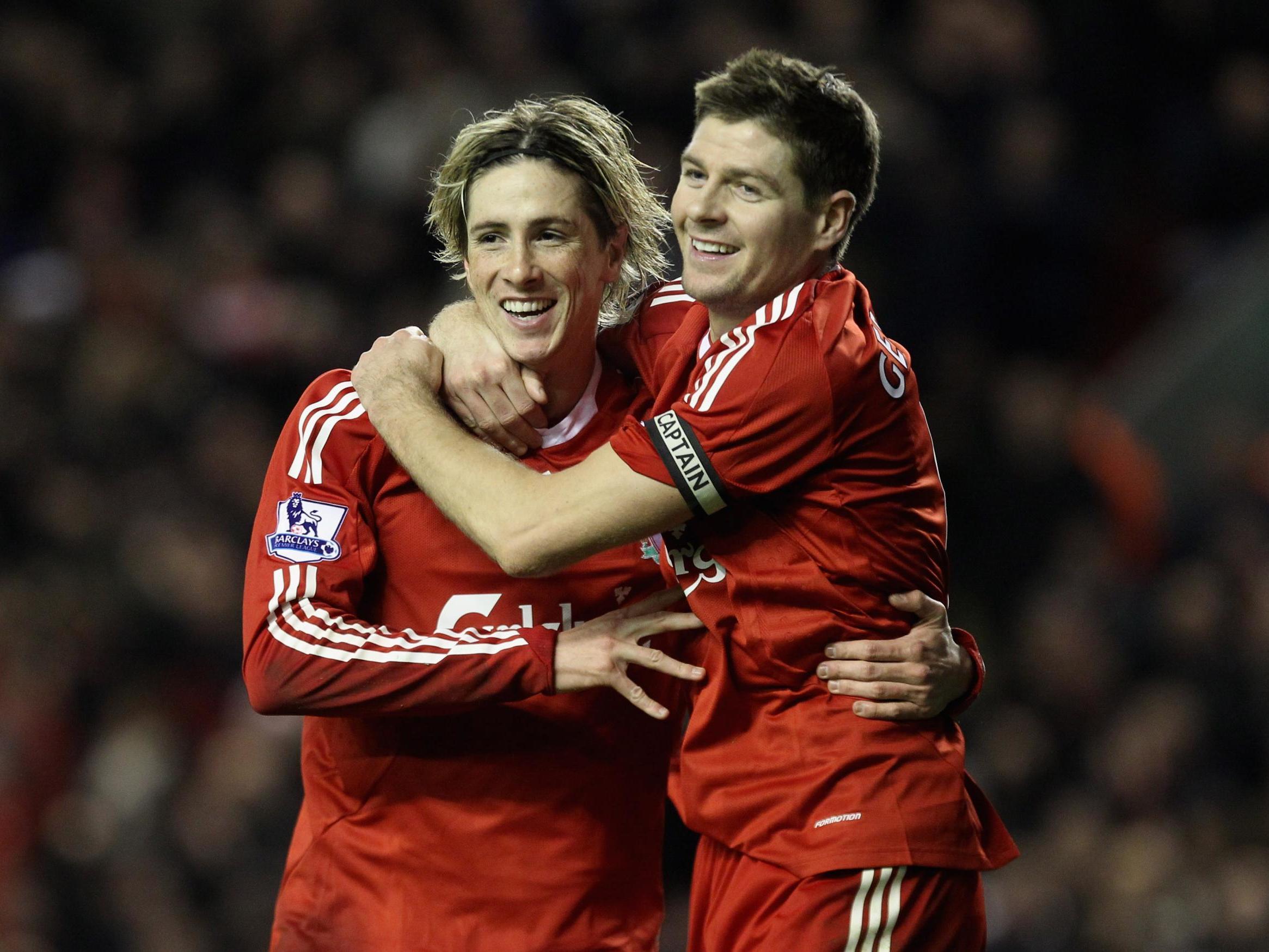 Fernando Torres: Former Liverpool striker singles out Steven Gerrard for special praise after announcing retirement