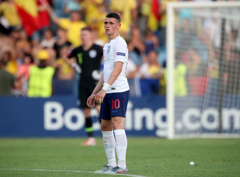Phil Foden will not be rushed into the England senior team, according to Under-21s manager Aidy Boothroyd