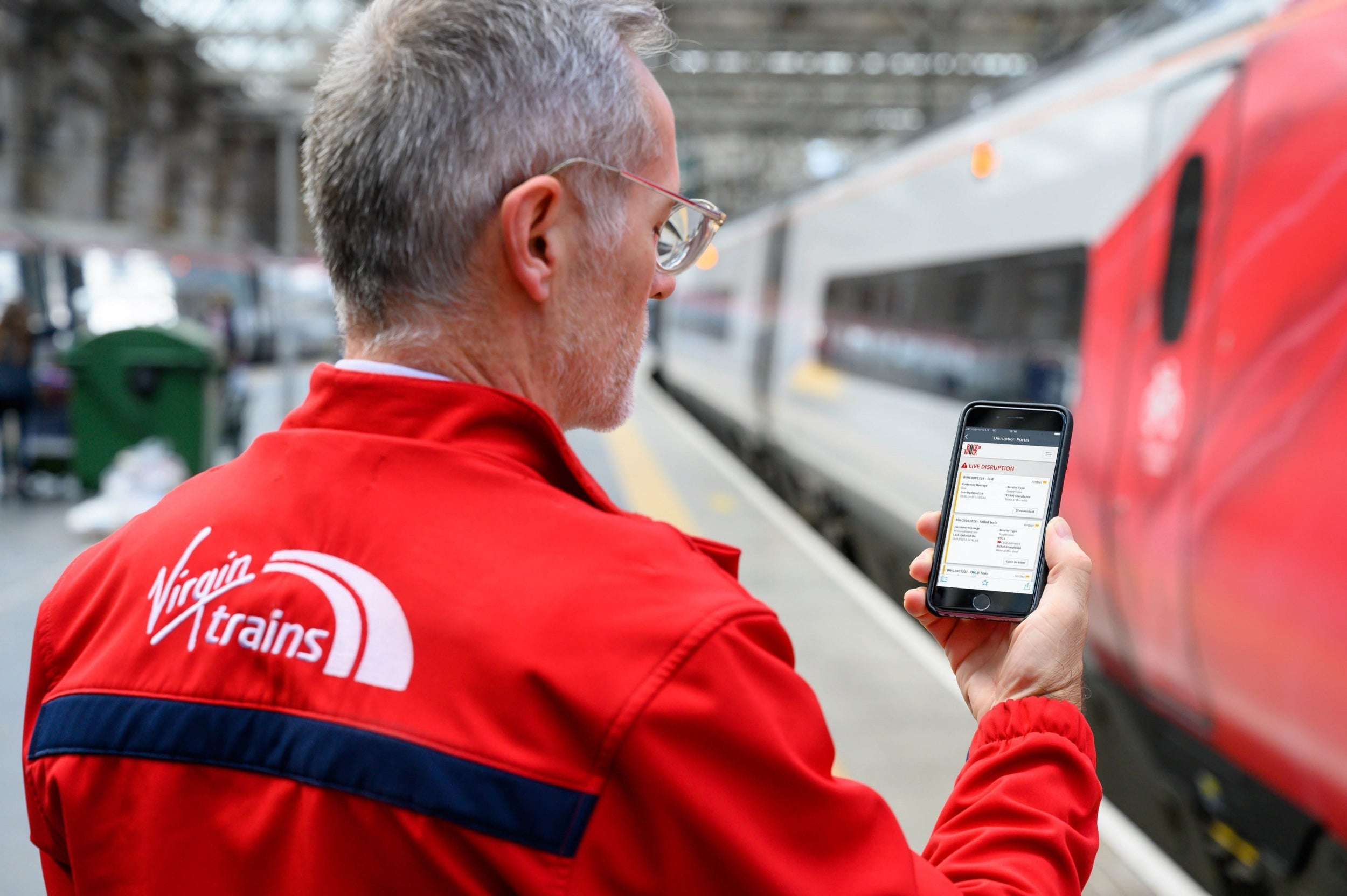 Virgin Trains app gives real-time updates on delayed and cancelled t…
