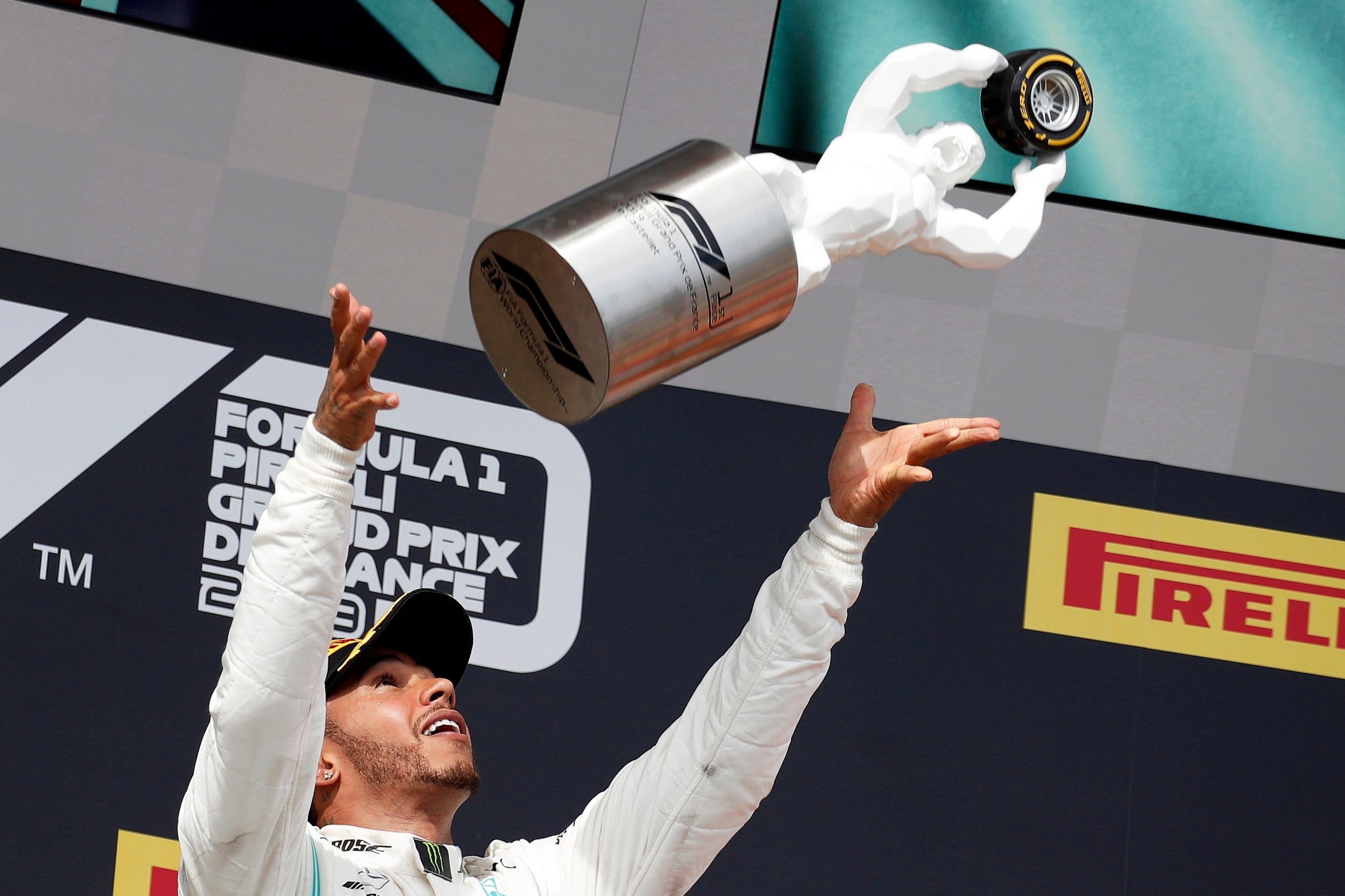 French Grand Prix 2019 results: Lewis Hamilton wins with