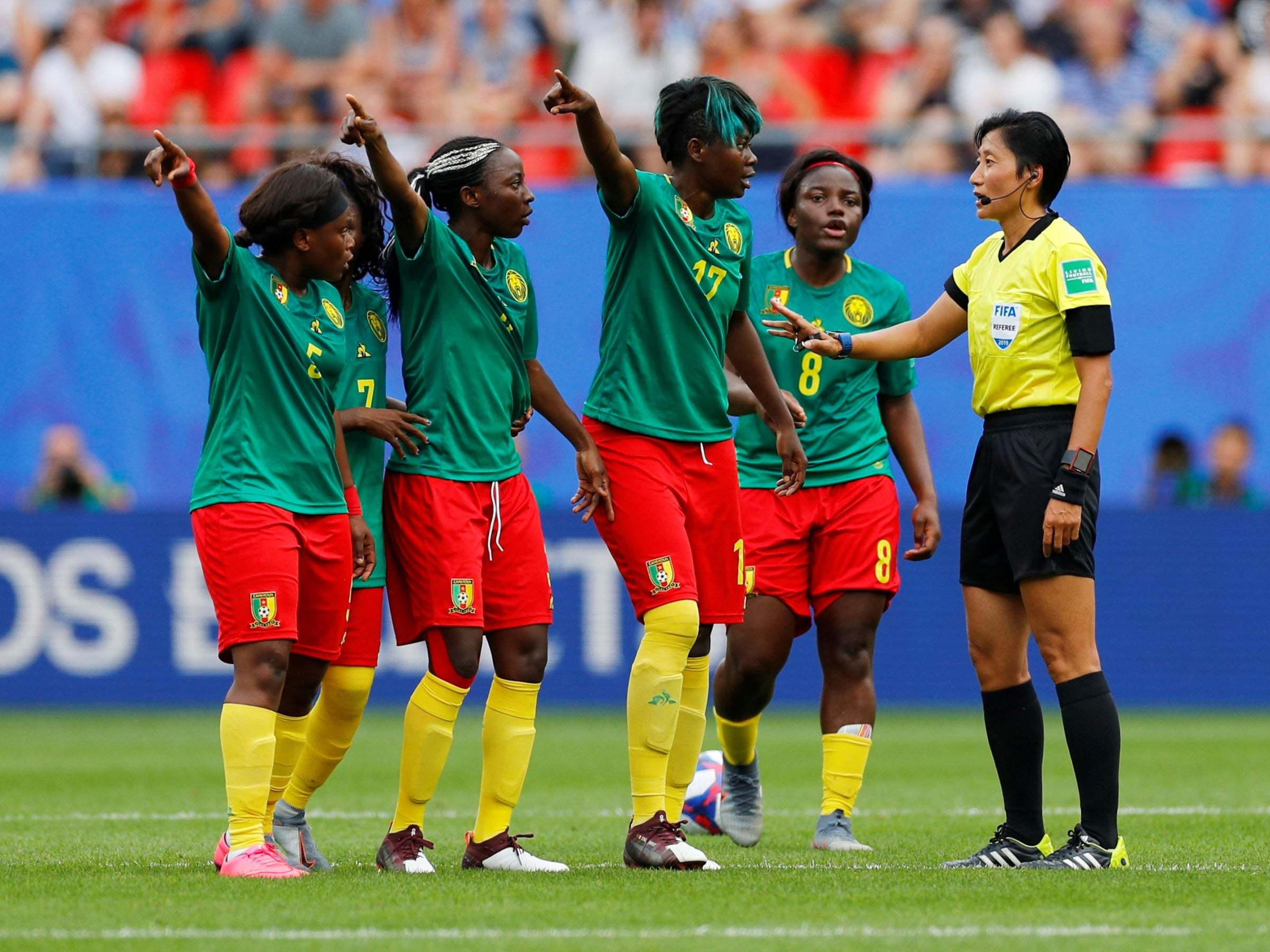 England vs Cameroon: VAR decisions see Women's World Cup last-16 match descend into chaos