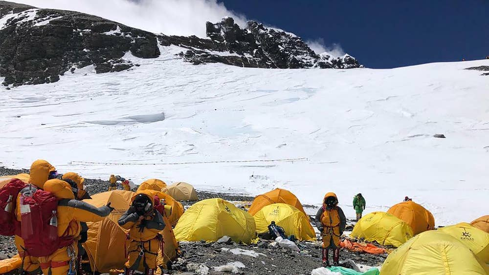 Everest climbers trying to forge first new route up mountain