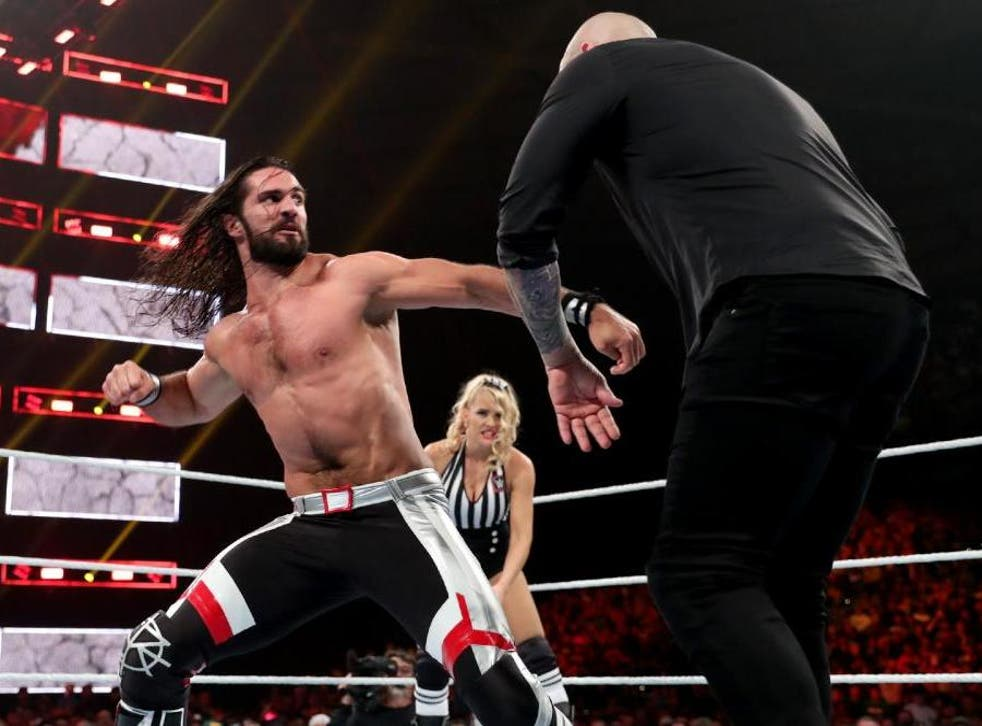 Seth Rollins beat Baron Corbin in the main event of the night