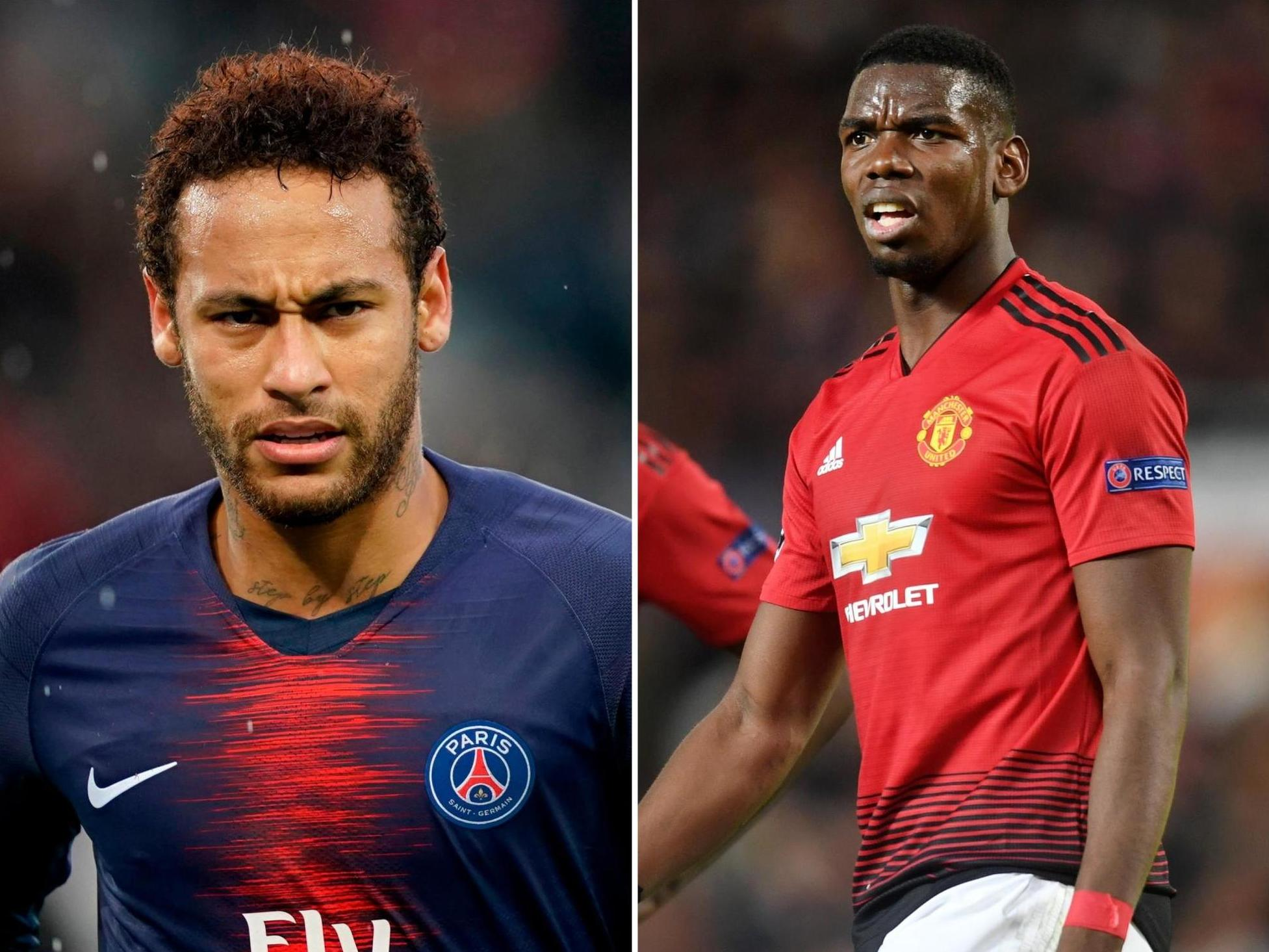 Manchester United rejected Neymar swap deal with for Pogba for two key reasons