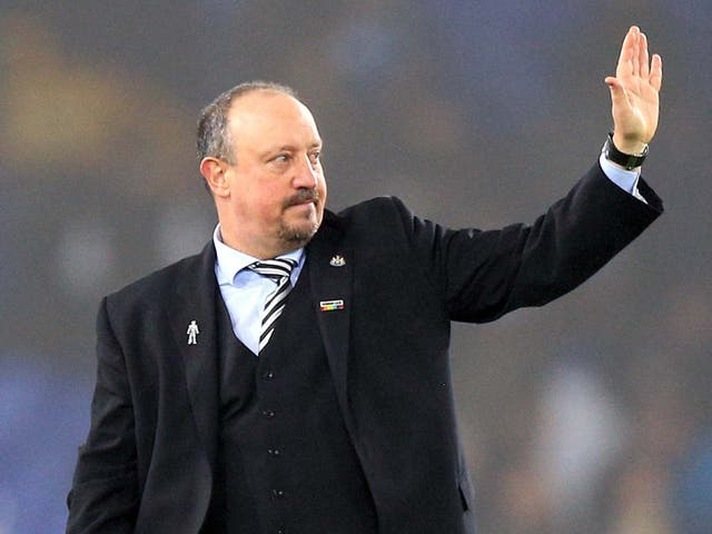 Rafa Benitez will leave Newcastle United at the end of the month