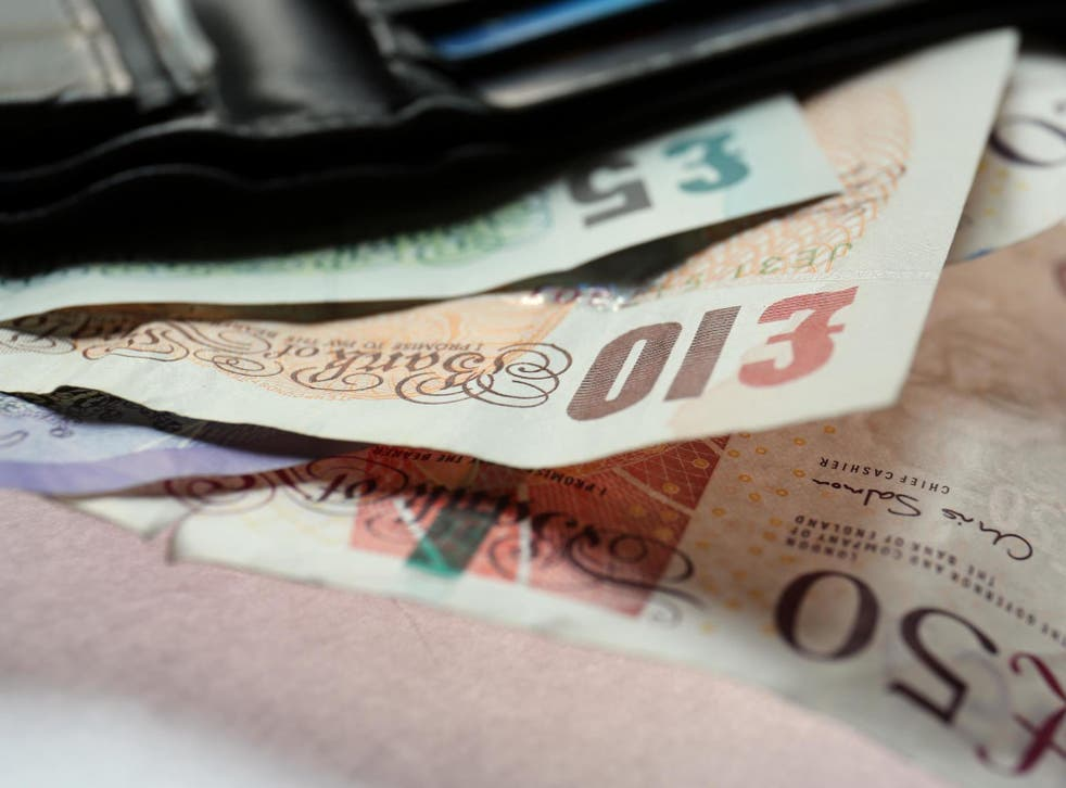 Since the beginning of the year, the pound has lost 5 per cent of its value against the dollar.