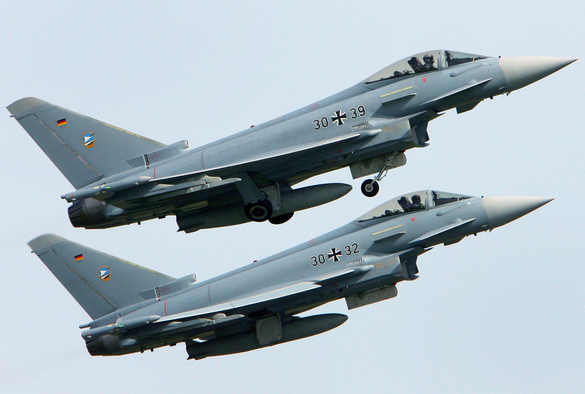 Germany plane crash: Pilot killed after two fighter jets