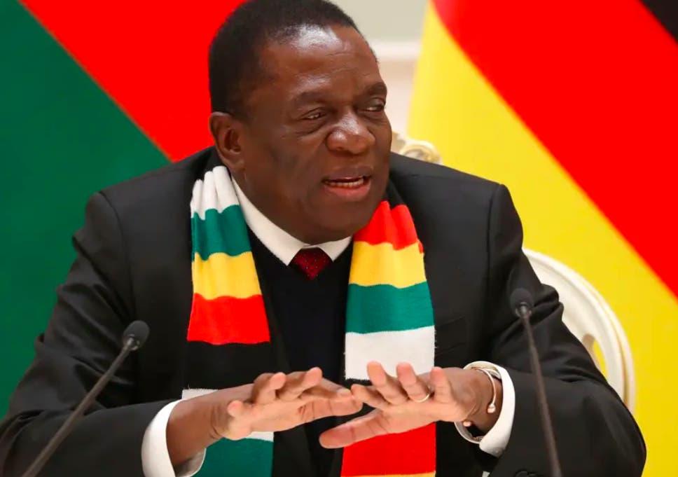 President Emmerson Mnangagwa ( AP )