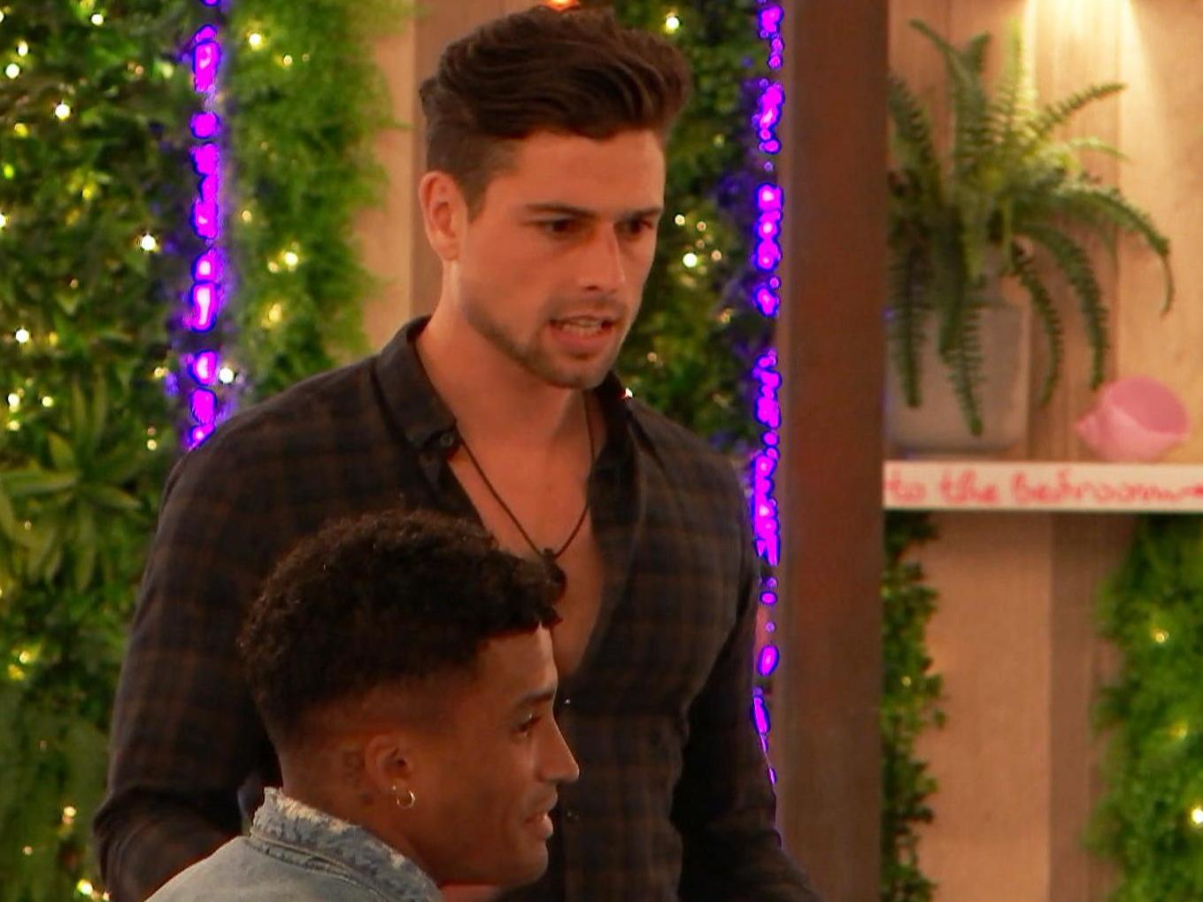 Love Island viewers complain show is 'full of toxic masculinity'
