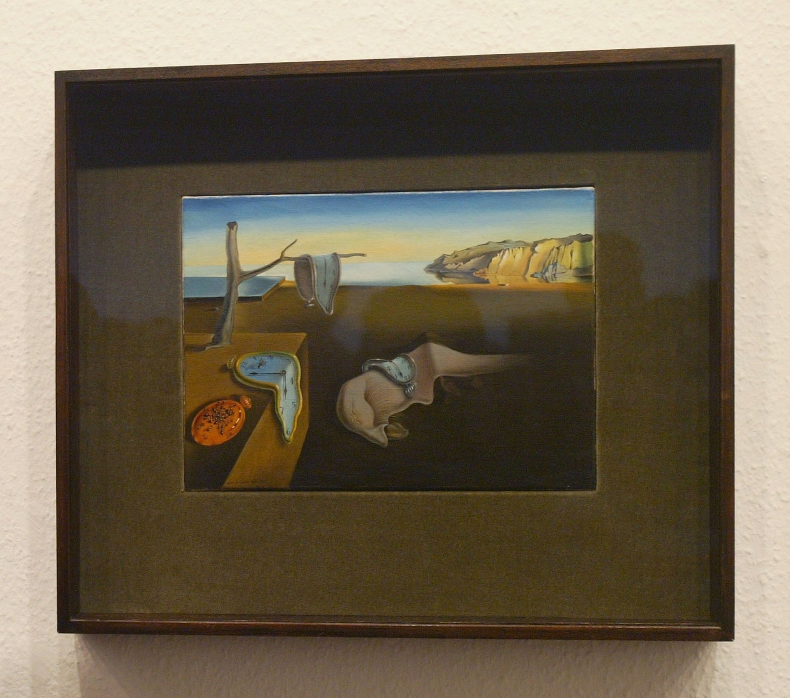 Salvador Dal's The Persistence of Memory (1931) at the Museum of Modern Art, New York
