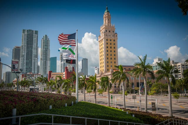 Freedom Tower in Miami is a symbol of its Cuban connection