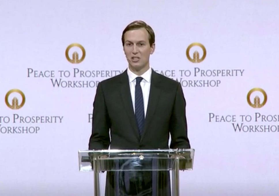 Jared Kushner calls Trump's peace plan 'opportunity of the century