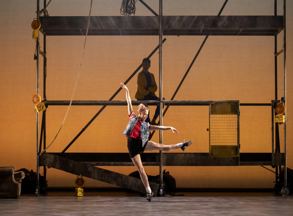 Modern dance: Laura Day in 'Peter and the Wolf'