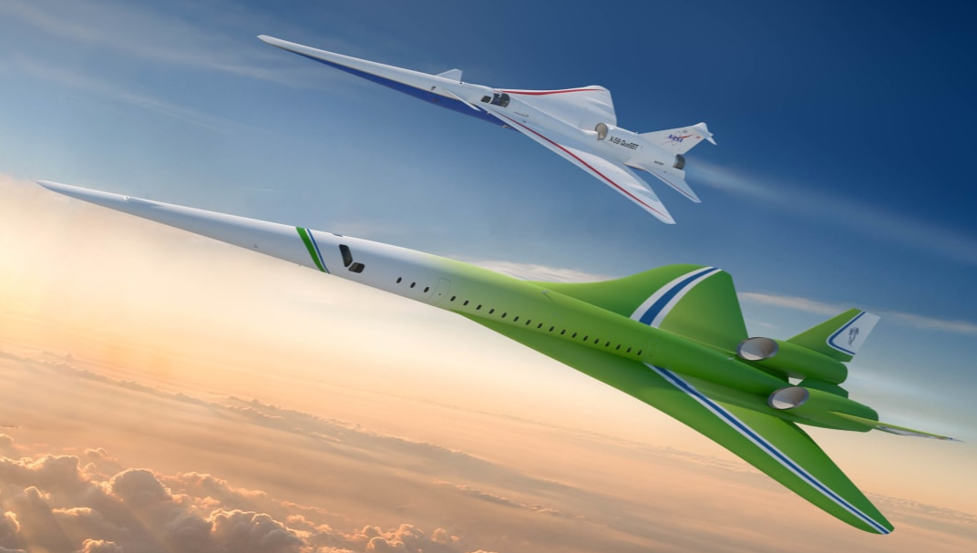 Futuristic quiet supersonic jet could fly London-New York in four hours