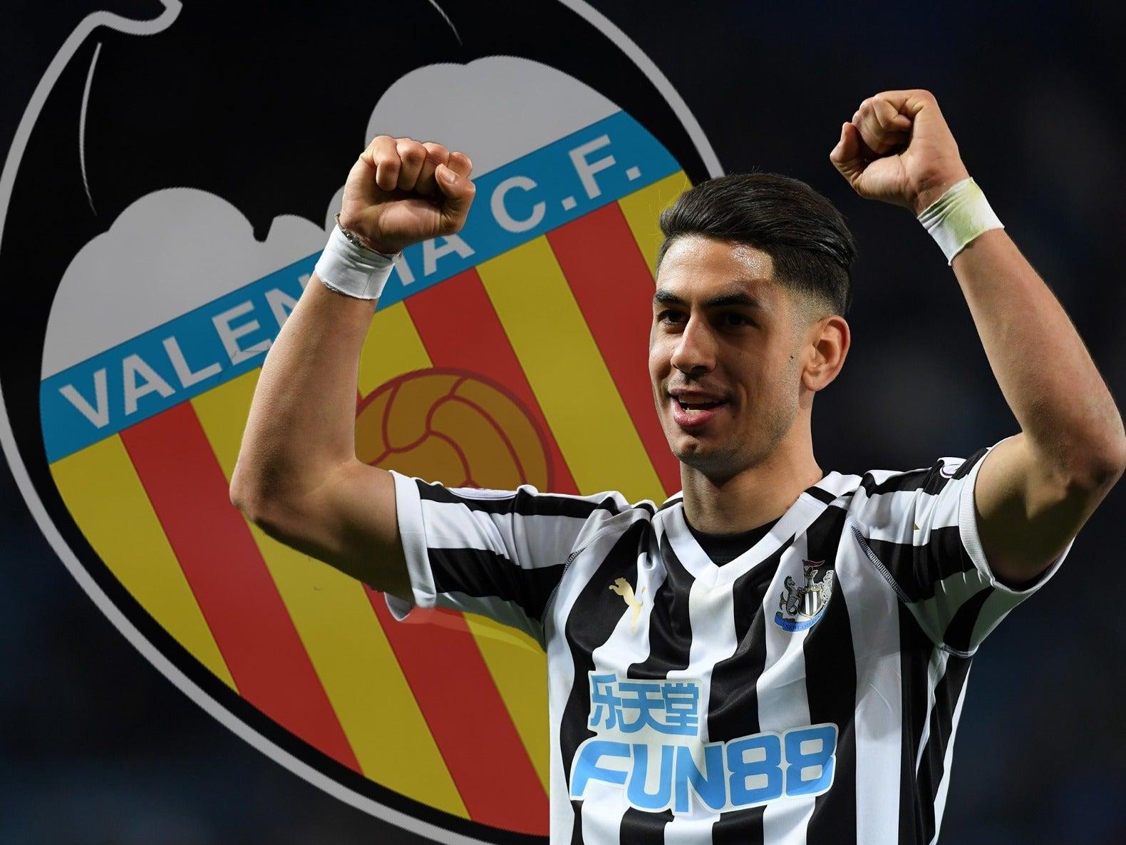 Newcastle transfer news: Ayoze Perez eyeing Valencia move after Rafa Benitez departure