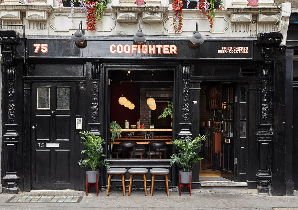Fried Chicken Restaurants Soho Review Fast Food That Comes