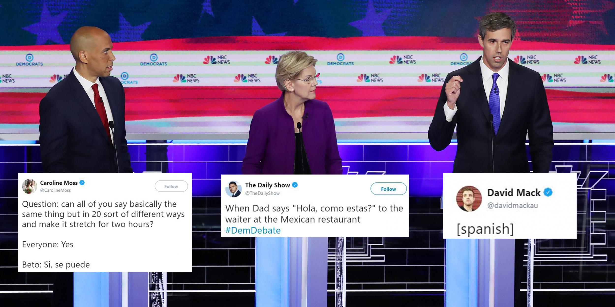 Democratic Debate Beto O Rourke Becomes Meme After Answering