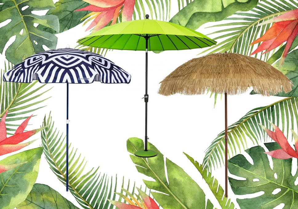 3fcc48a702841 Most parasols are sold without a base, allowing you the option to buy one  that
