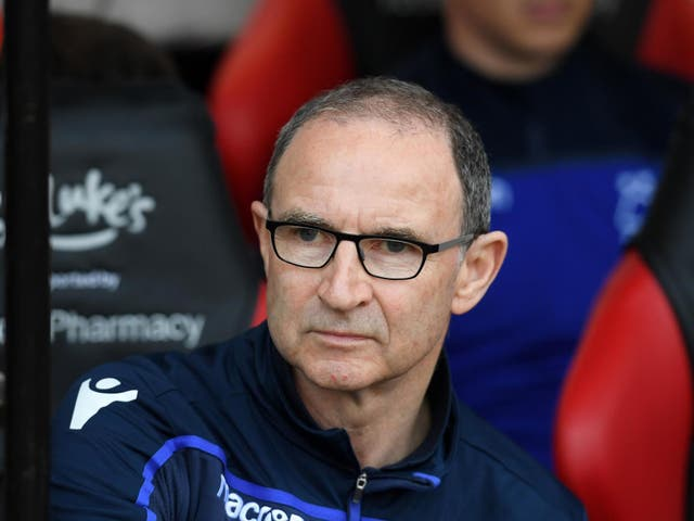 Nottingham Forest have sacked the Irishman