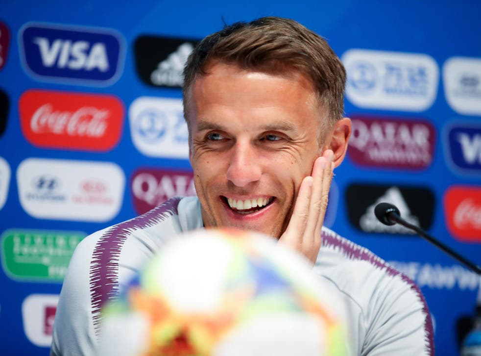 Man of the moment: England women's football team manager Phil Neville