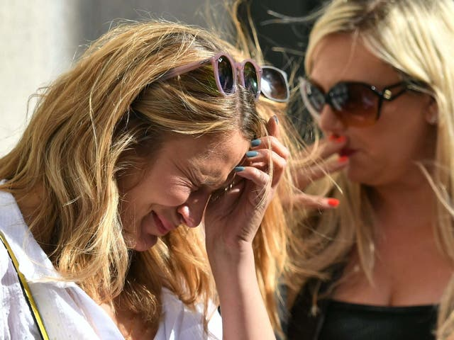 Nurse Helen Kennett breaks down in tears at the end of the London Bridge terror attack inquest