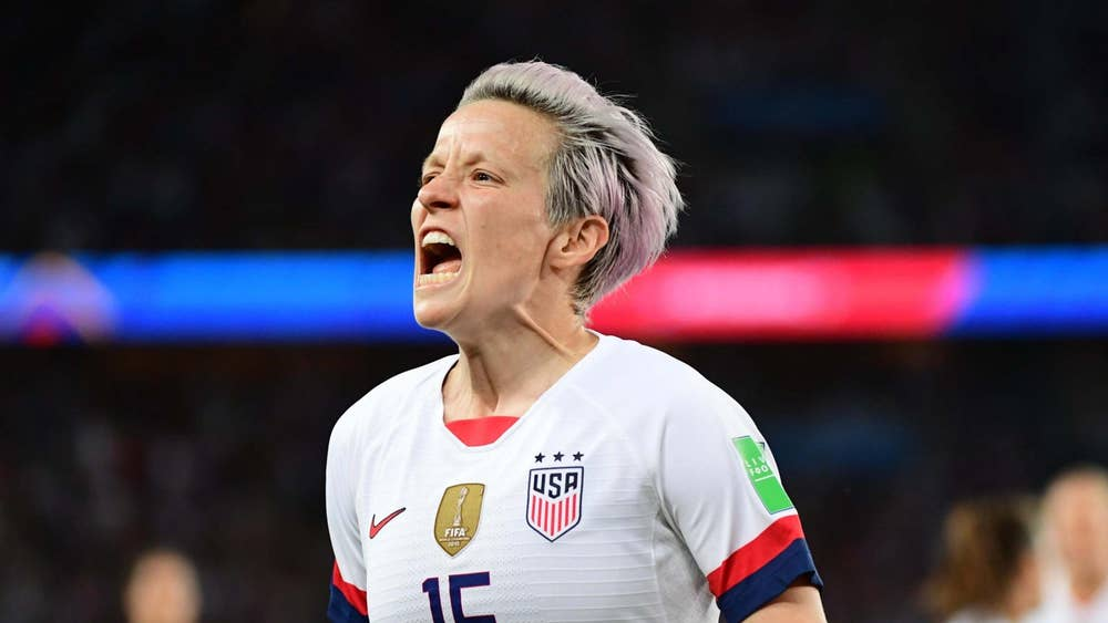 Megan Rapinoe's girlfriend sends message to Trump after