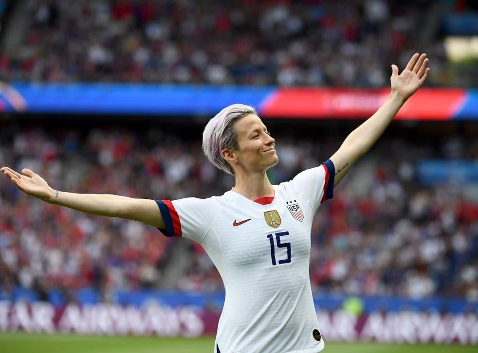 <p>Rapinoe enfureció a Trump cuando dijo que 'no iría a la maldita Casa Blanca' si su equipo se adjudicaba la victoria en la Copa Mundial Femenina en Francia.</p>
