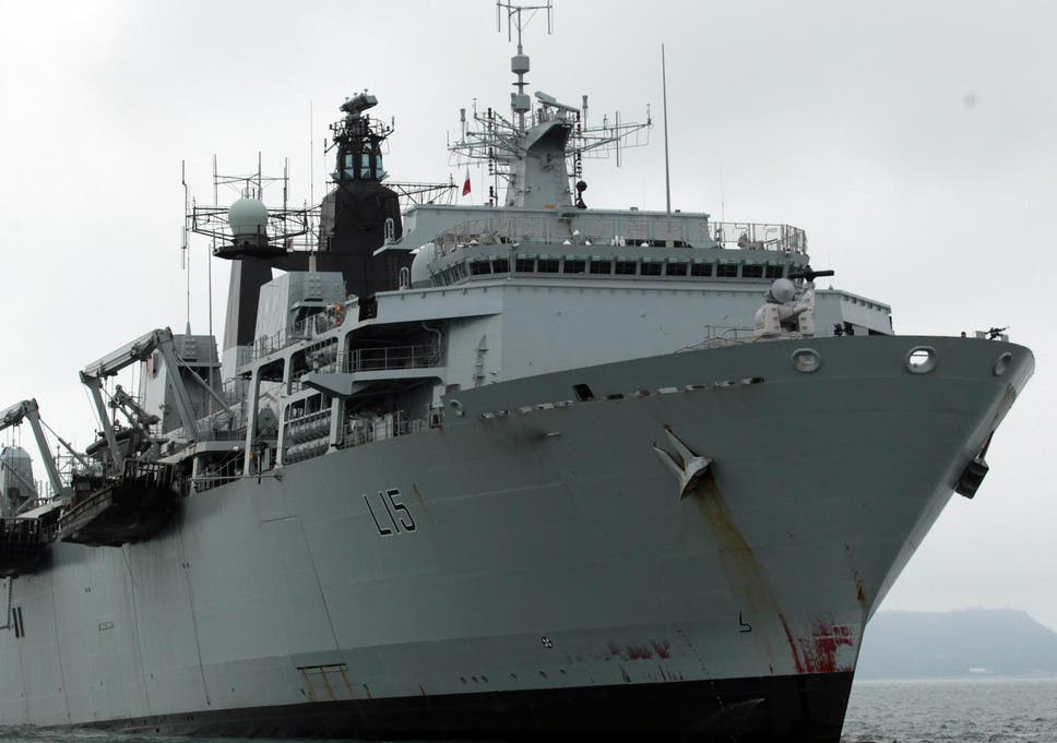 A UK-led military expedition involving seven western countries is currently operating in the Baltic Sea