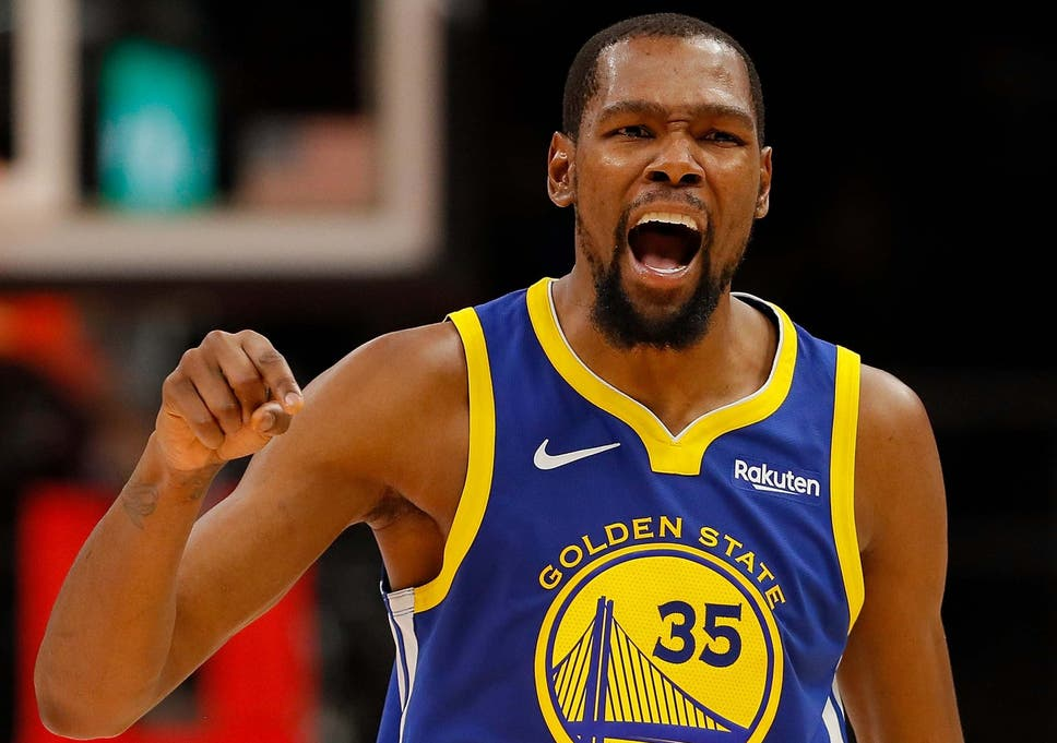 7d5435144f8 Kevin Durant agrees four-year £129m contract with Brooklyn Nets as ...
