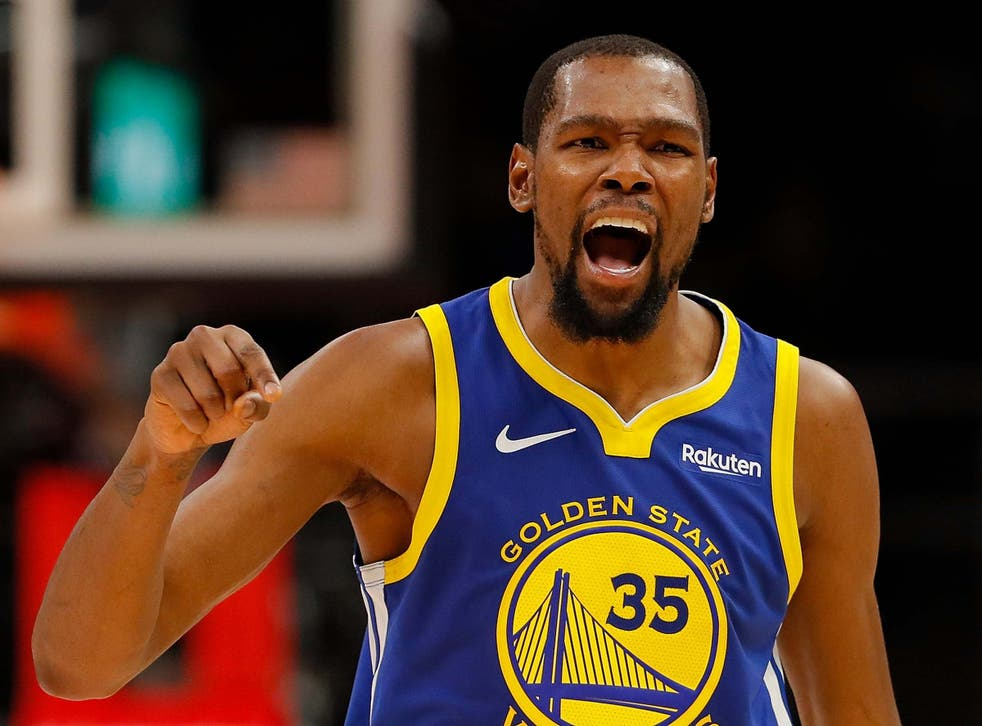 Kevin Durant won the two NBA Championships with the Golden State Warriors