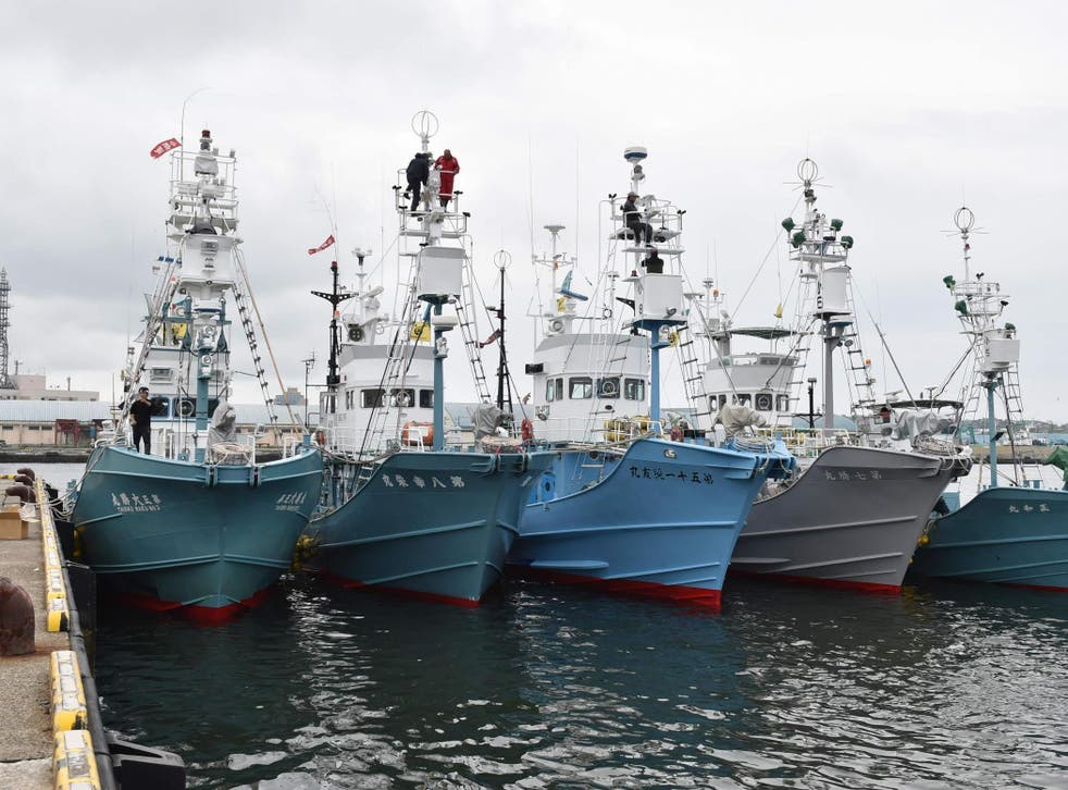 The last time Japanese ships went out on a commercial hunt was in 1988