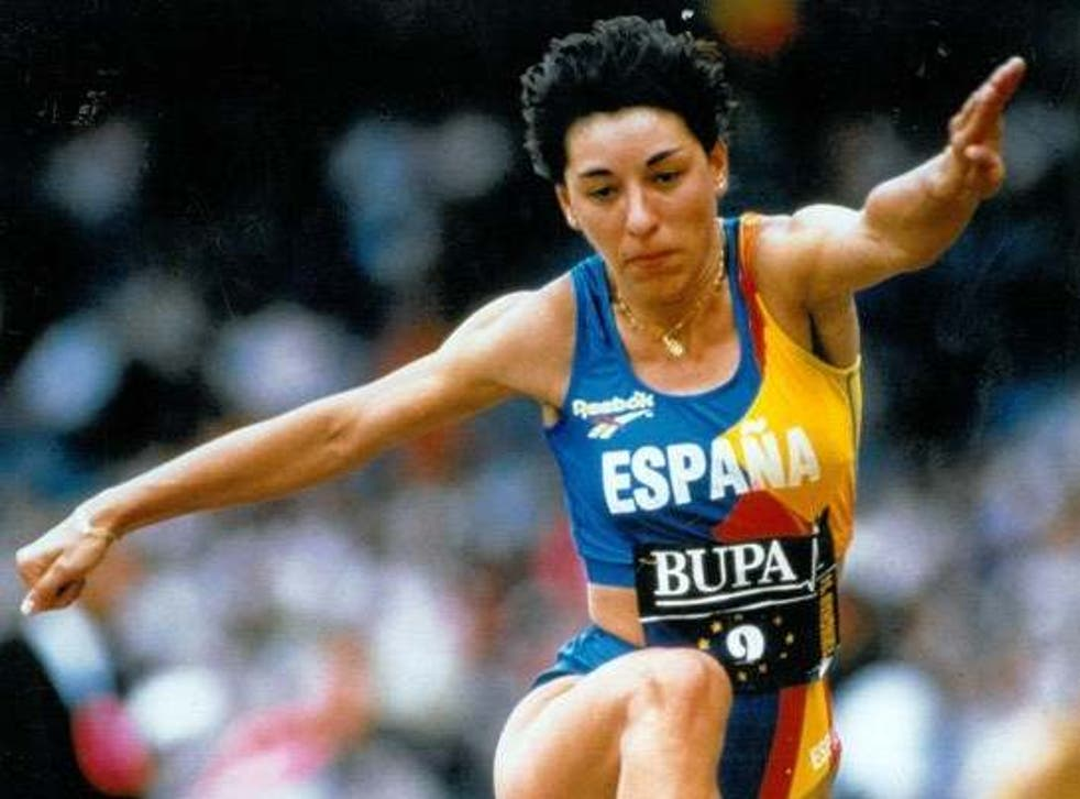 Paredes was Spain's first big star of triple jump