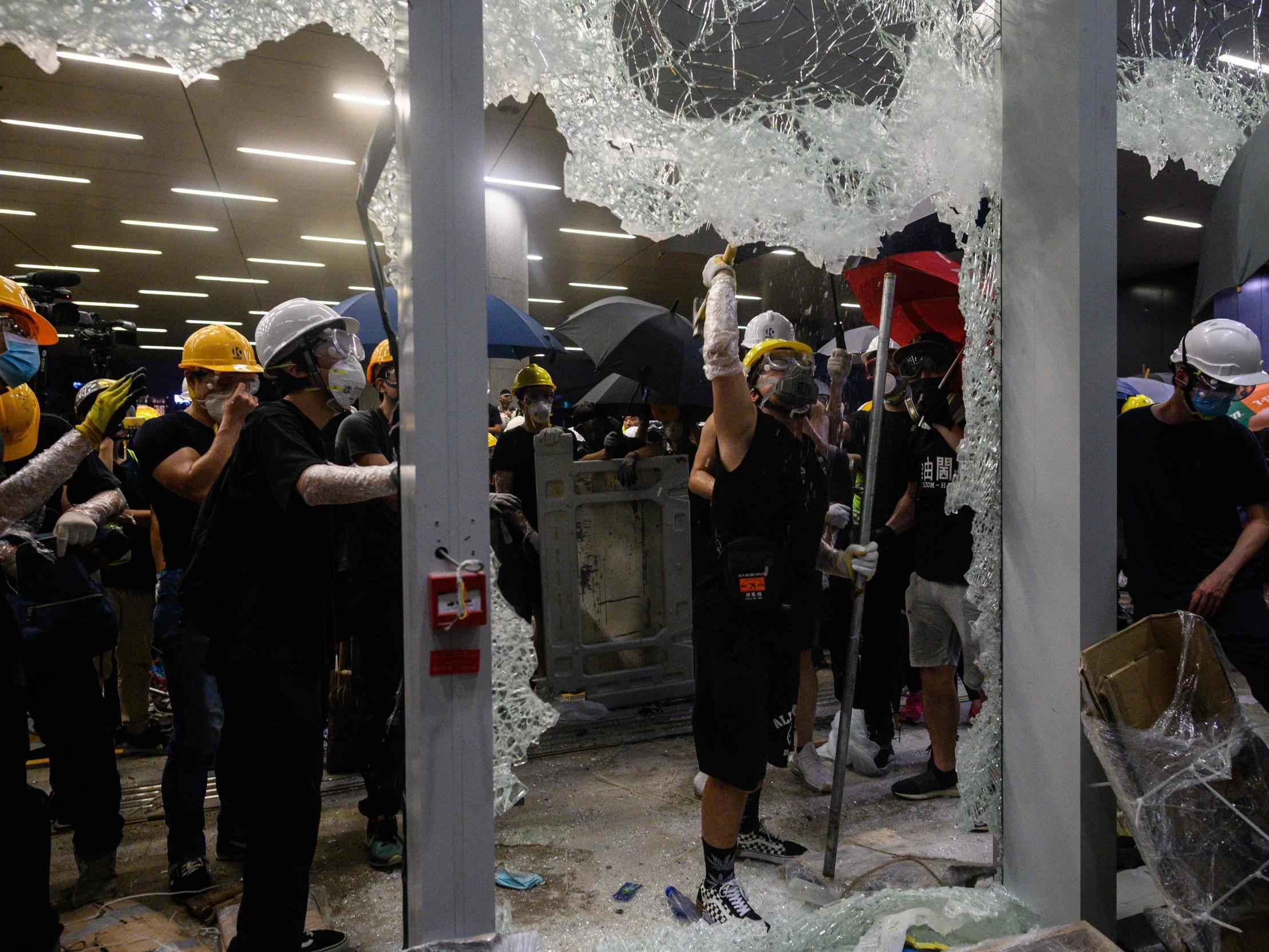 Image result for hong kong protest private property