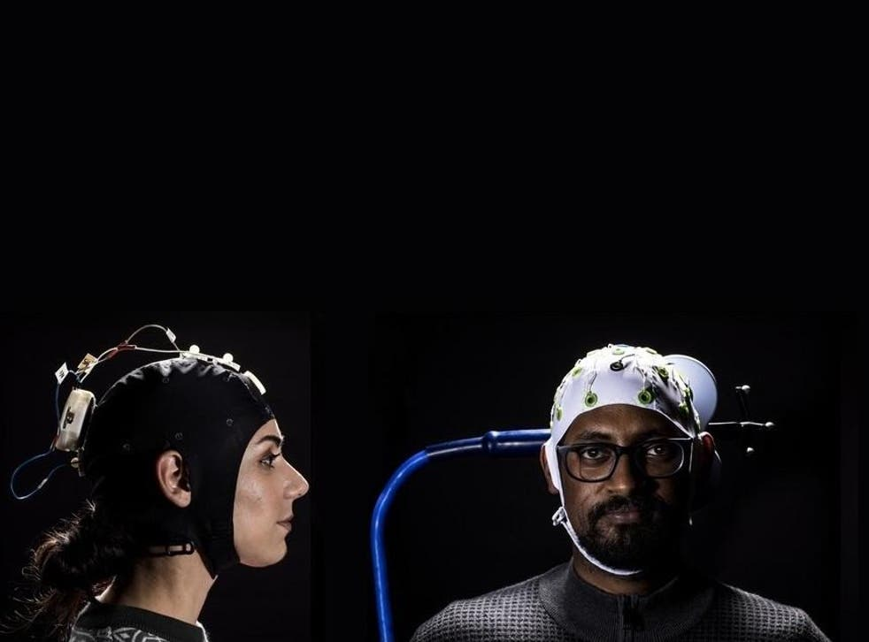 University of Washington researchers created a method for two people help a third person solve a task using only their minds