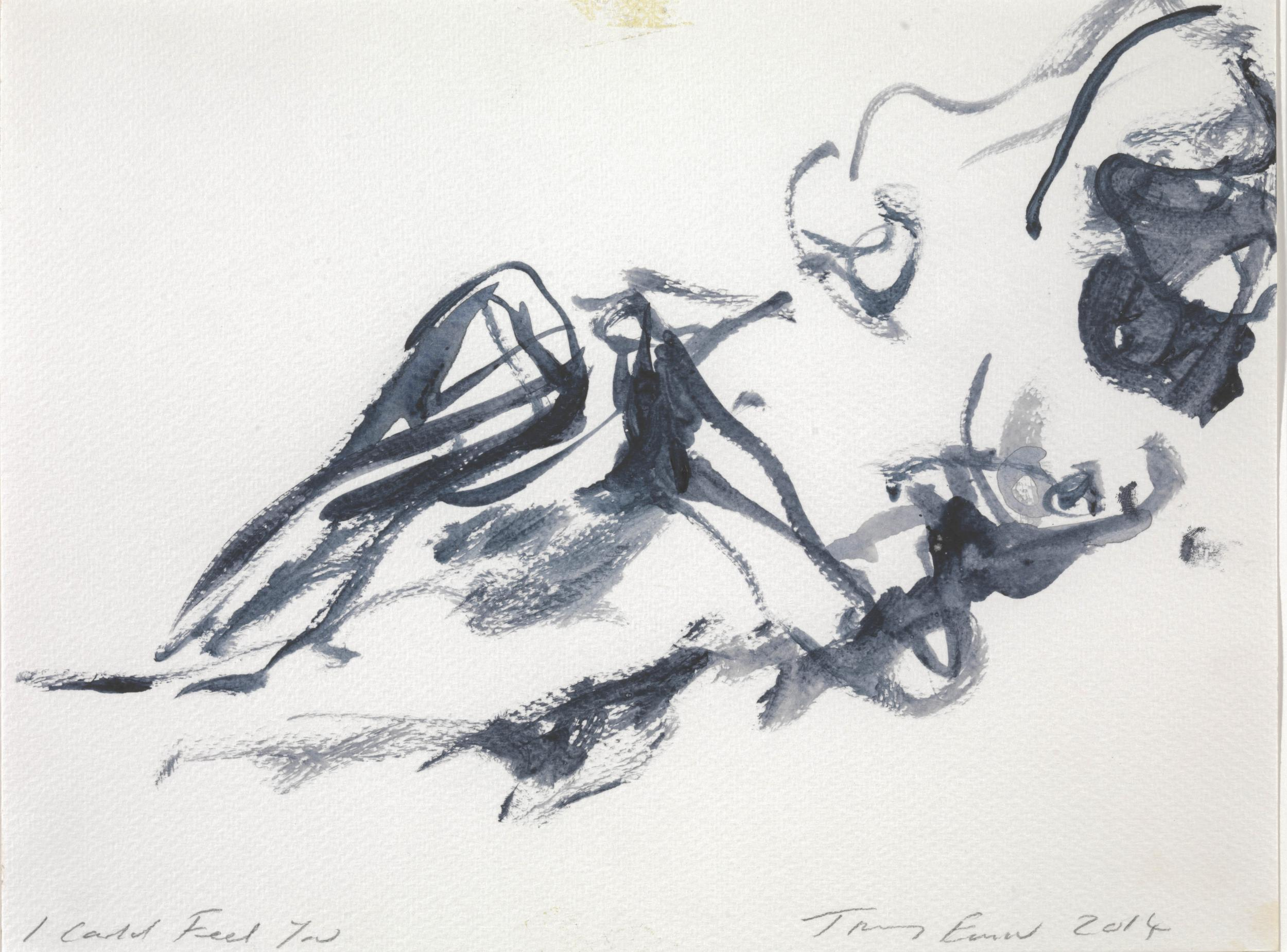 Tracey Emin's I Could Feel You (2014) at Tate Britain, London