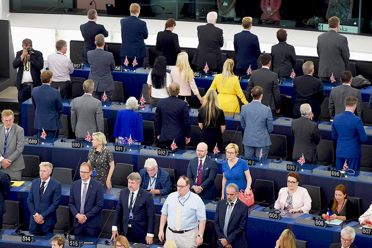 The European Parliament gave us a glimpse of the UK's future: just good, honest, old fashioned loathing