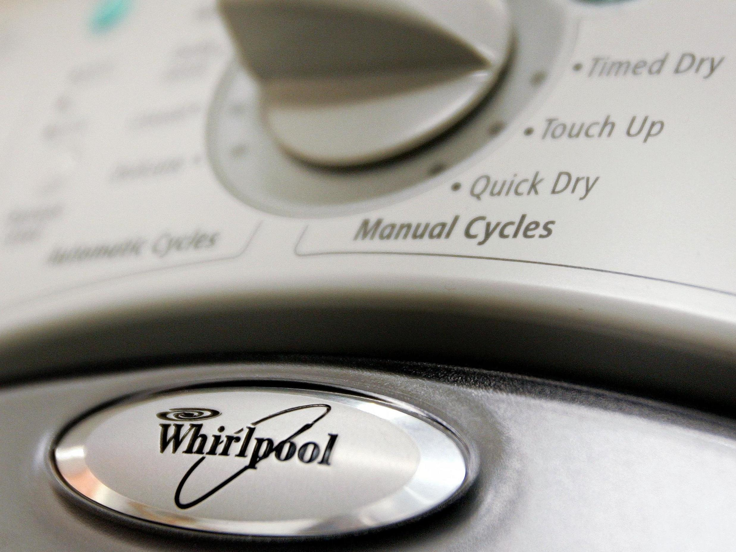 Whirlpool admits 800,000 faulty tumble dryers could be at risk of catching fire