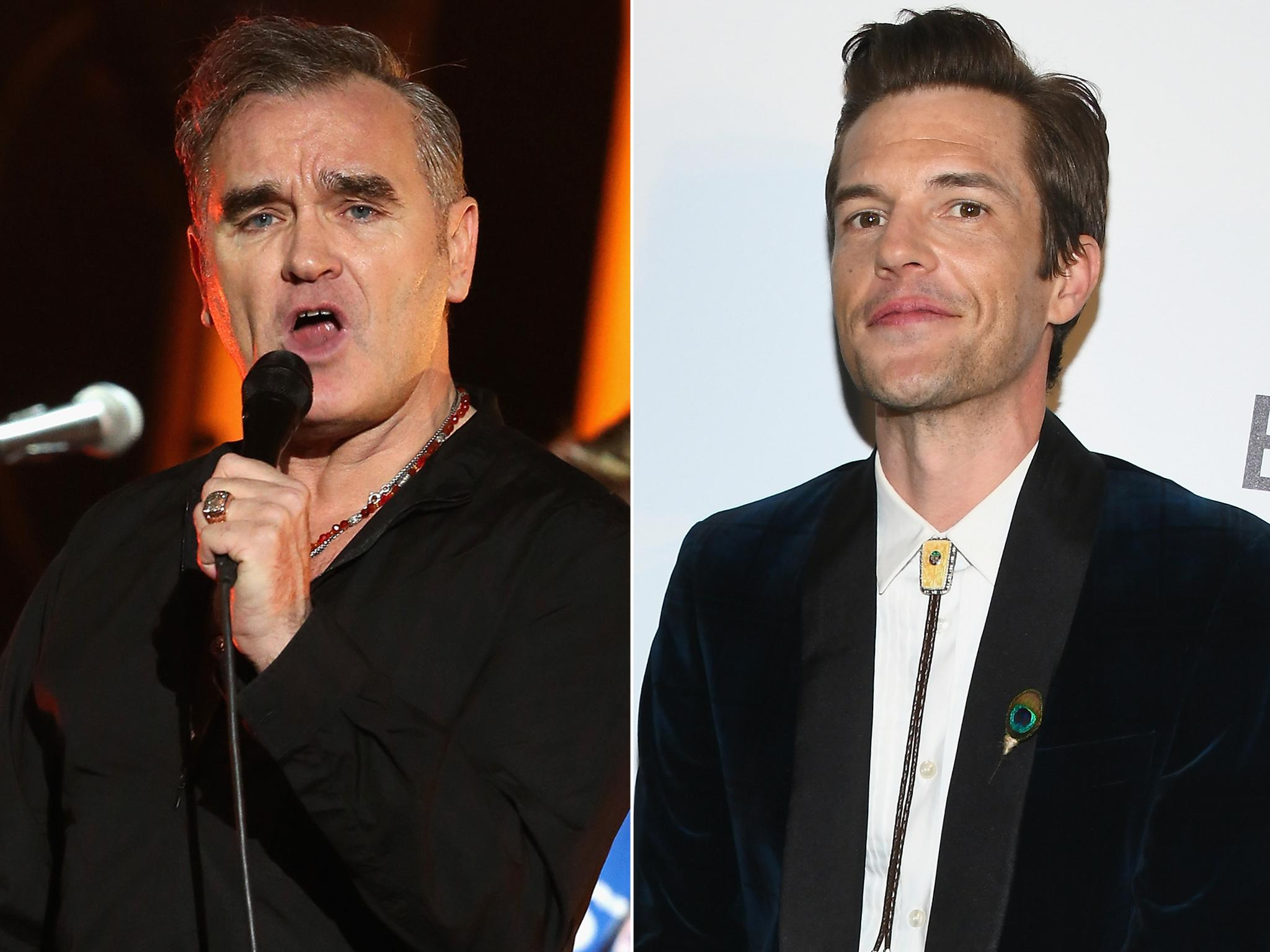 Brandon Flowers says Morrissey is 'still a king' despite his support…
