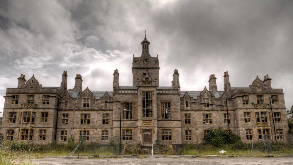 Photos of abandoned buildings across the UK to go on display