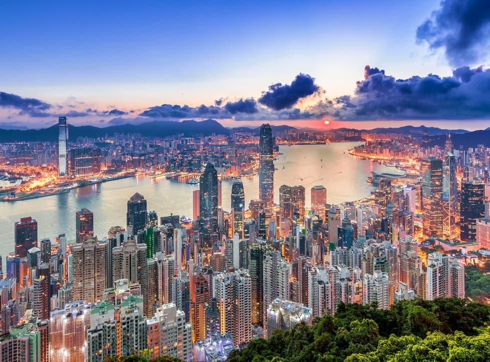 Hong Kong es una de las ciudades más grandes del mundo.