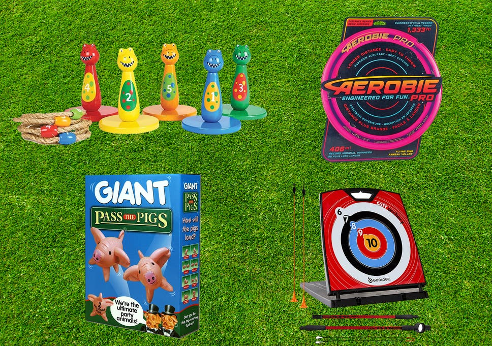 Best outdoor games to get the whole family playing together