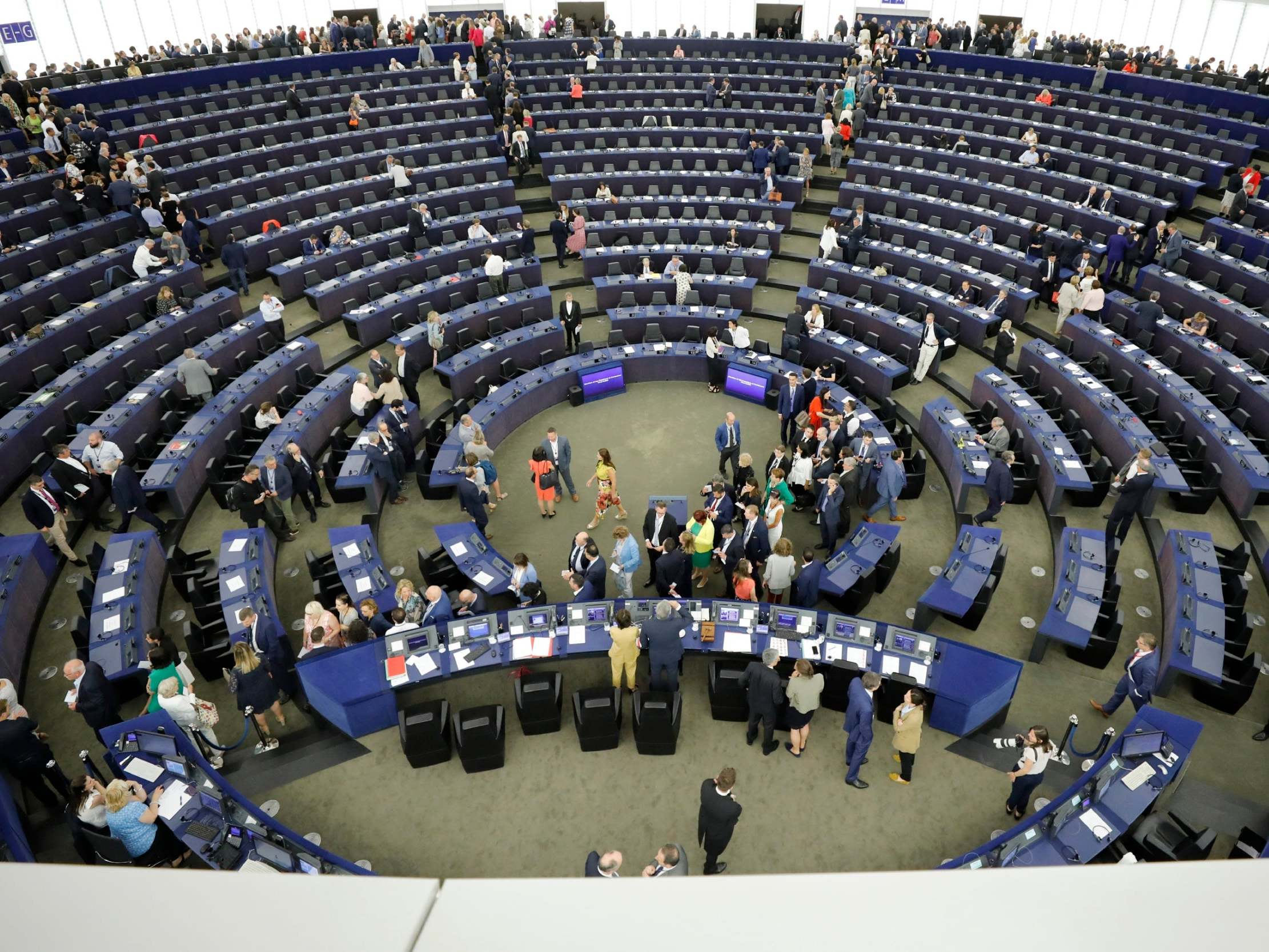 This is not democracy': European parliament unites to