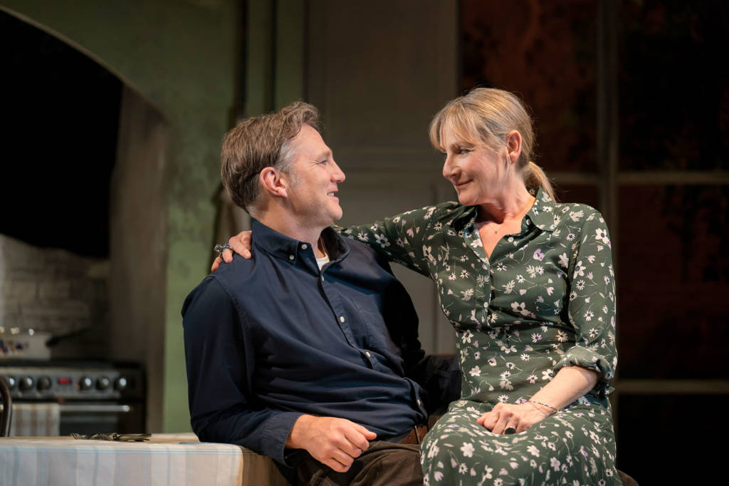 The End of History, The Royal Court review: Lesley Sharp is painfully funny in this clever, intriguing production