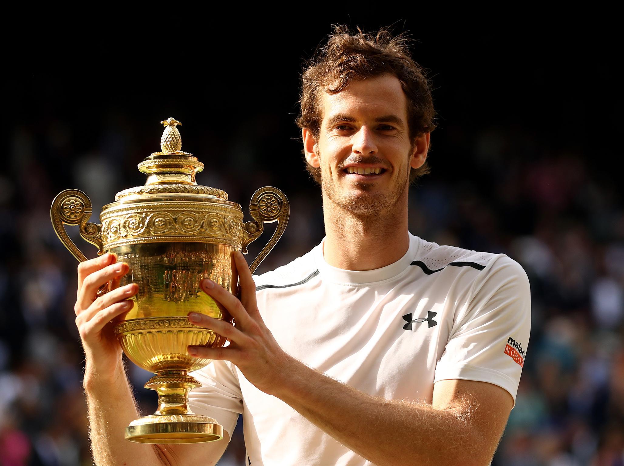 Andy Murray's Wimbledon appearances