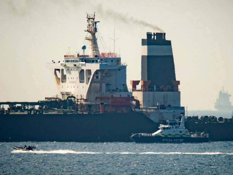 BP oil tanker 'shelters off Saudi Arabia amid fears it could be