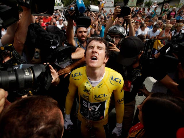 Geraint Thomas: 'As a lead rider there's a lot more pressure every single day'