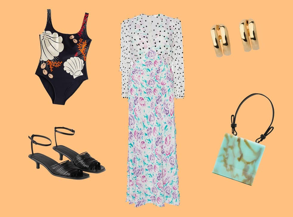 Breezy midi dresses, floaty skirts and tops with milkmaid sleeves should sit high on your shopping list